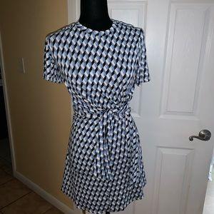DVF mini dress